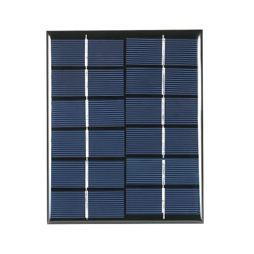 2W 6V Polycrystalline Silicon Solar Panel Solar Cell for DIY Power Charger 110*136mm