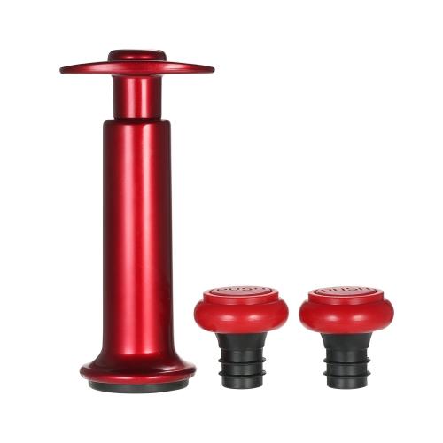 Ручной вакуумный насос L'hopan с пробкой для бутылок для вина Практический инструмент для кухонной кухни для сохранения вина