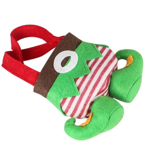 Neues Weihnachtsgeschenk zwei Taschen Sankt Geist-Süßigkeit Taschen Feiertags-Weihnachtsdekorationen Reizendes Geschenk für Kinder