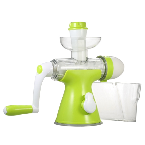 Manual Juicer Multifunctional Juicing Machine Detachable Hand Crank Juicer Practical Juice Extractor Fruits Vegetables Hand Juicer Ice-cream Maker