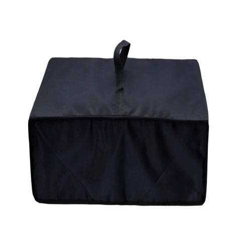 Cubierta para olla de presión eléctrica Arrocera resistente al calor Resistente al agua Resistente al polvo Protector de polvo de protección Papel de aluminio Negro