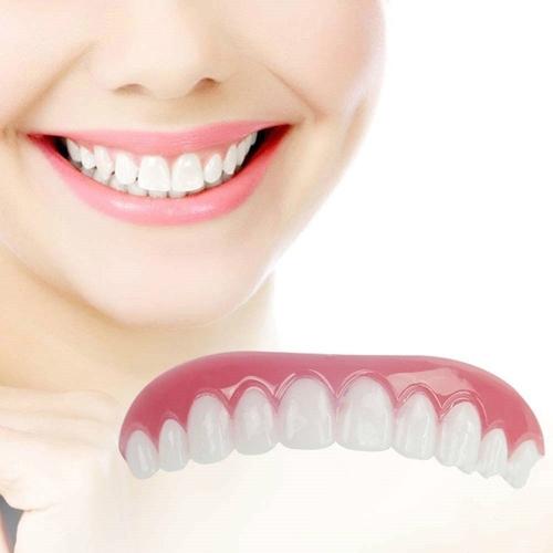 Perfect Instant Smile Comfort Fit Flex Zęby żel krzemionkowy Whitening Denture Pasta Ząb Cover Cosmetic Beauty Tool