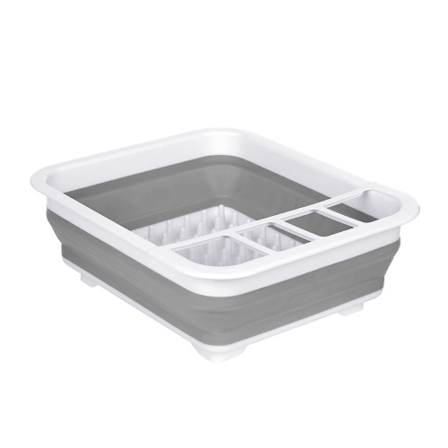 Foldable Bowl Storage Rack Draining Board Collapsible Draining Rack Dish Rack Cup Bowl