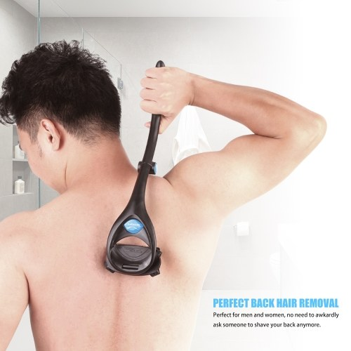 Back Hair Removal and Body Shaver Device