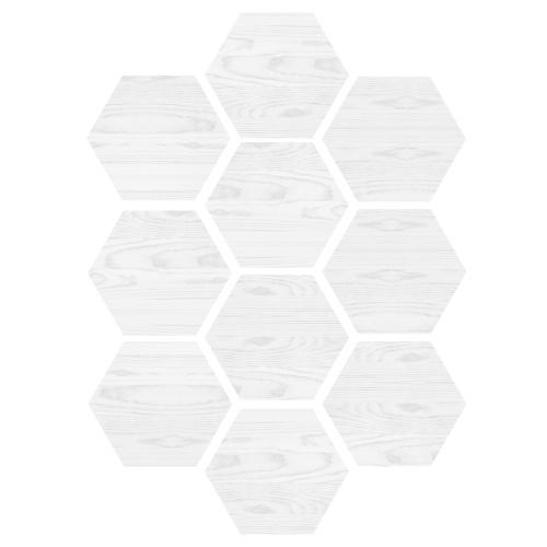 10 Pcs / Set Autocolante de Piso Autocolante