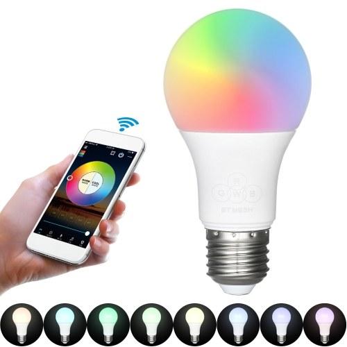 4.5W lâmpada de música de bulbo inteligente BT