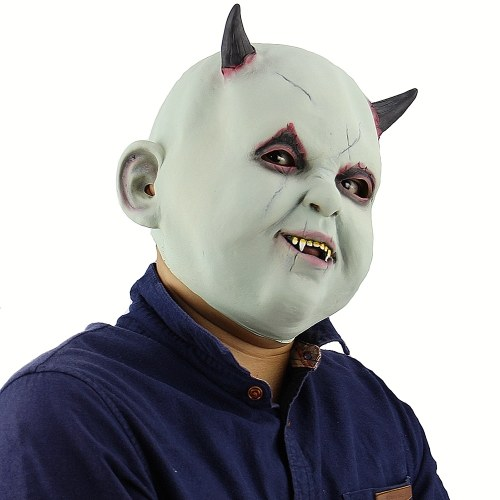 Latex Full Head Toothy Monster Mask Scary Creepy Devil Mask