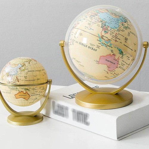Home Office World Globe Decorazione per il desktop