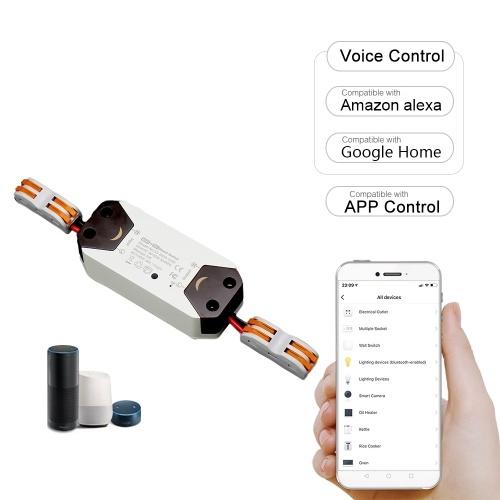 433MHz RF Smart Wi-Fi Switch Беспроводное реле Пульт дистанционного управления