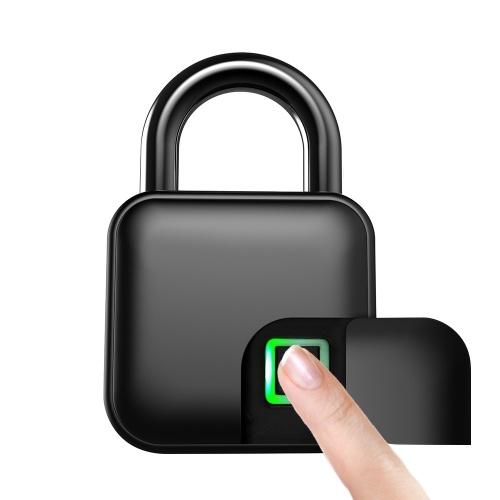 Smart Fingerprint Lock USB Rechargeable ...