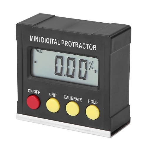 360 ° Mini Digital Winkelmesser Neigungsmesser Elektronische Nivellierbox