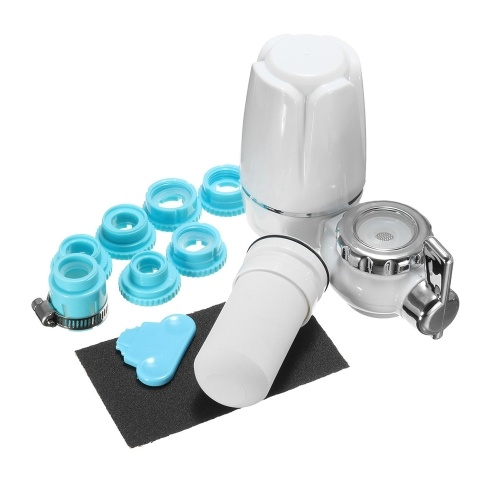 Filtro acqua rubinetto bianco