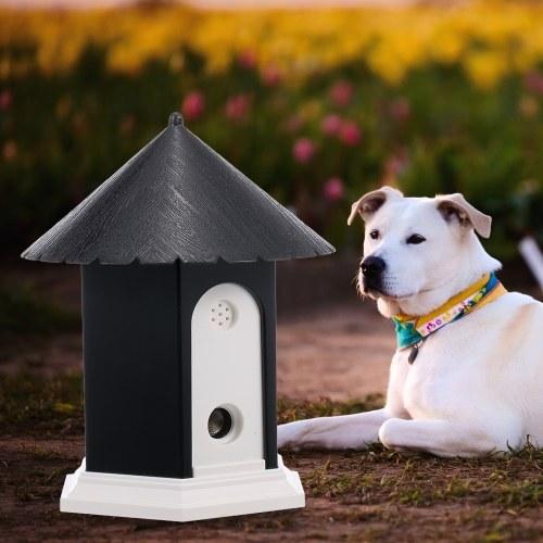 Pet Dog Control de Corteza de Aire Libre Dispositivo de Desconexión de Sonido Ultrasónico de Sonido Impermeable 50 pies Herramienta de Control de Entrenamiento de Perros Sonic Bark