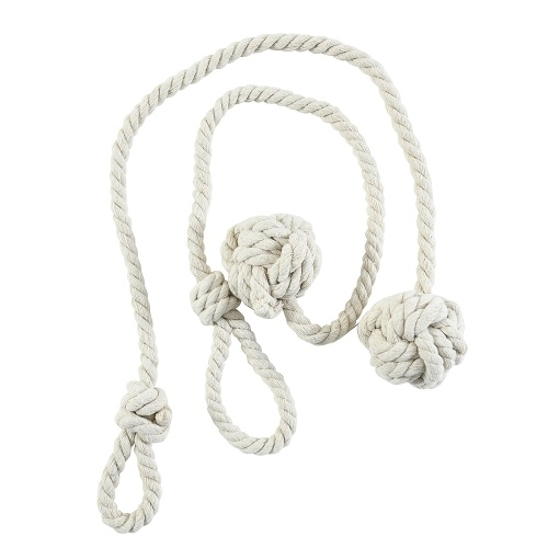 1Pair Curtain Tiebacks Rope
