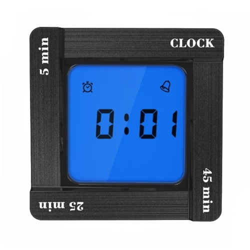 Multifunctional Creative Kitchen Home Decoration ABS Alarm Clock Scientific Timer