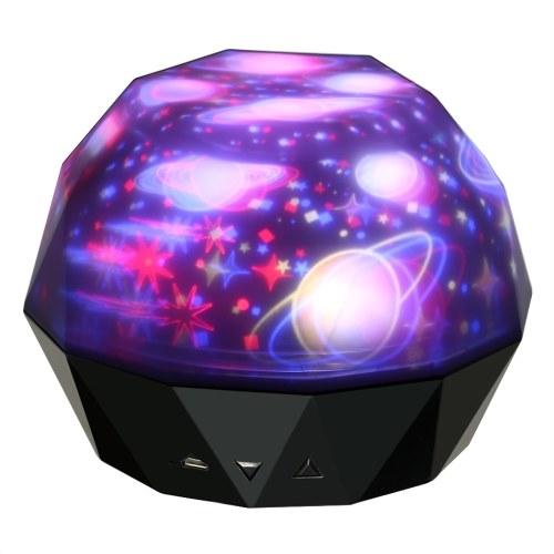 Diamonds Projection Lamp LED-Licht USB-Projektor für Party-Aktivitäten