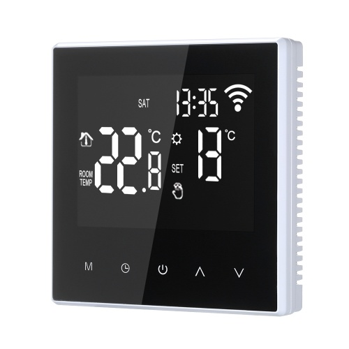 Controle esperto do APP do controlador de temperatura de 16A Wi-Fi Thermostat Digital