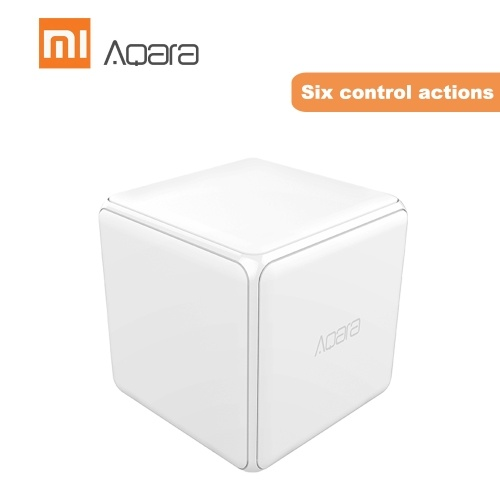 Aqara MFKZQ01LM Cubes Intelligent Home Controller Linkage Control of Different Equipment
