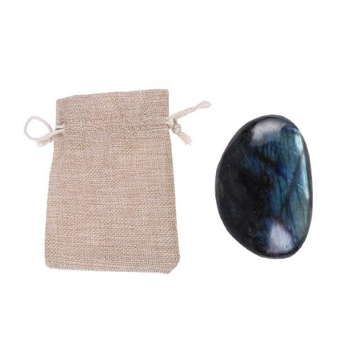 Натуральный лунный камень Лабрадоритный камень Хрустальный камень Образец украшения для дома фото