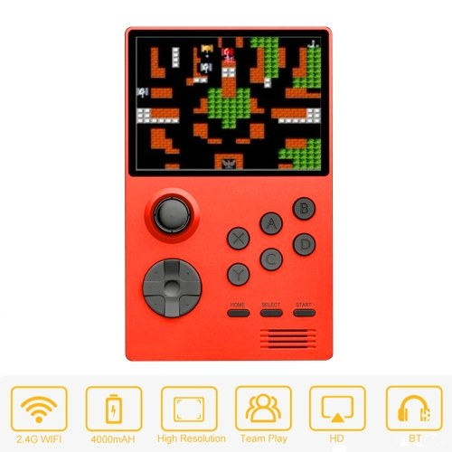 3.5-inch IPS Screen HD Output Retro Game Console Handheld Game Player