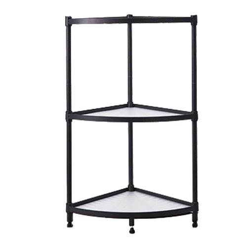 3-Ebenen-Eckregal Organizer Shelf Storage Rack