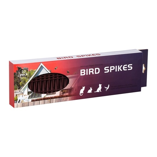 Bird Spikes, 43CM Defender Spikes Squirrel Small Birds Pigeons Repellent Spikes