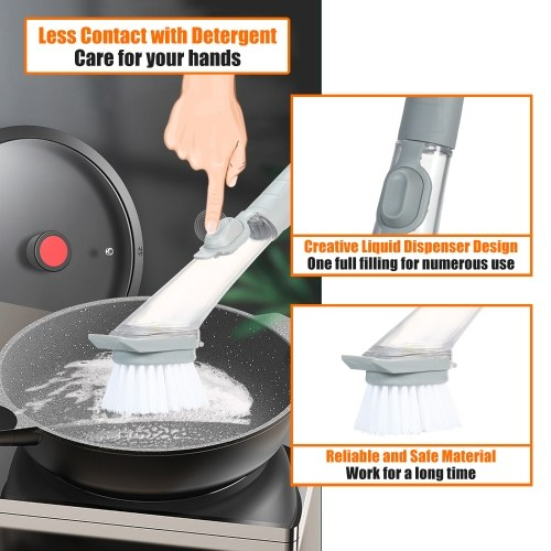 Soap Dispensing Dish Brush