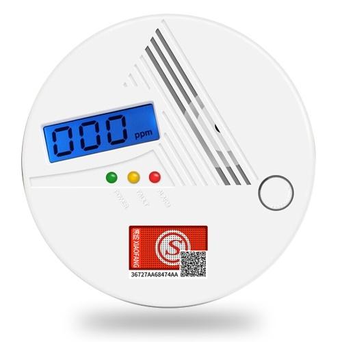 Kohlenmonoxid-Alarmdetektor Co-Alarmdetektor