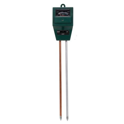 Medidor de pH del suelo Medidor de humedad del suelo