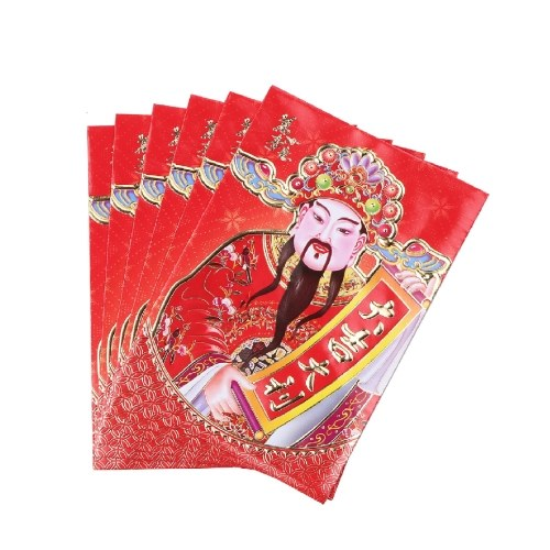 Sobre rojo del año nuevo chino 2021
