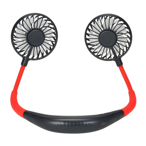 Neck Band Fan Portable Neck Hanging Fans