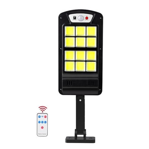 LED sensor de luz movido a energia solar