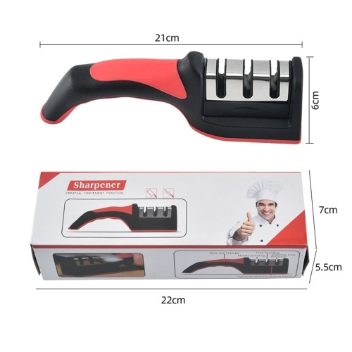 Knife Sharpener Removable Manual 4-Stage Knife Accessories