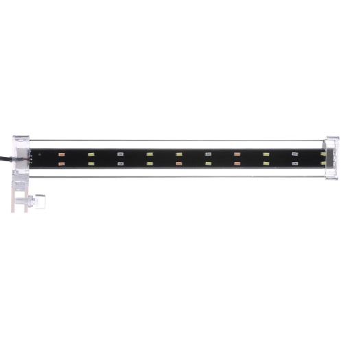 18cm / 28cm / 38cm Akwarium LED Clip-on Clamp Lamp High Light LED Bar SMD5730 Fish Tank niebieski + biały + różowy Lighting Tube AC220V-240V