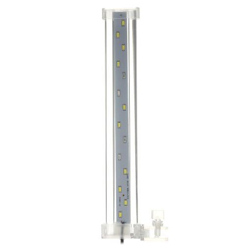 8cm-12cm-18cm-28cm Aquarium LED Clamp Clip-on Lamp High Light LED Bar SMD5730 Fish Tank Blue&White L