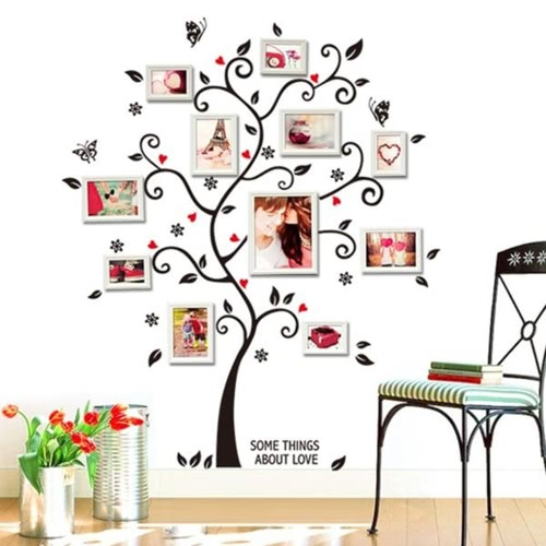 Memory Tree Decal Removable Mural Wall Art Sticker
