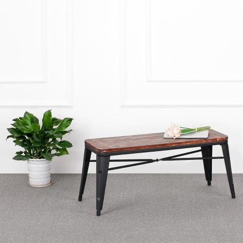 IKayaa 2 Sitzer Natürliche Pinewood Küche Esszimmer Bench