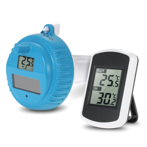 Wireless 433MHz Floating Pool and SPA Thermometer Remote Sensor Transmitter Outdoor Water Temperature Measurement