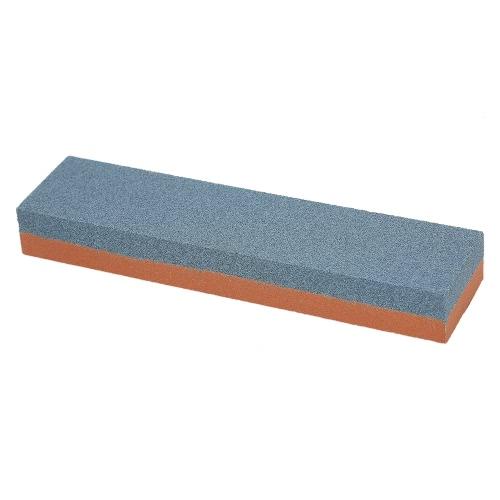 "Decdeal 8 ""* 2"" * 1 ""Нож для резки камня 200/600 Грунт грубого / тонкого комбинированного двухстороннего точильного шлифовального камня для ножей 200 * 50 * 25 мм"
