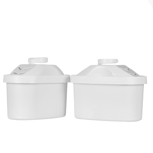 2pcs/set Water Pitcher Filter BPA Free Filter Cartridges Replacement Water Filters Pitcher Water Filters