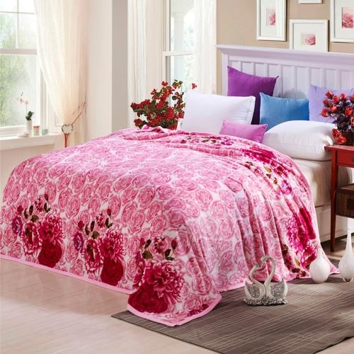Одеяло из натурального полиэфирного волокна Ferret из полиэфира высокого качества Мягкое и теплое 260 г / ㎡