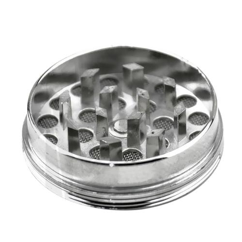 3 capas de humo redondo Cigarettes Grinder Esfera de aleación de zinc Weed Herb Tobacco Crusher