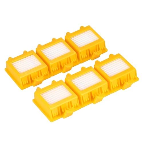 6шт. Запасные принадлежности для замены фильтров HEPA для iRobot Roomba 700 Series 700 760 770 780 790 Пылесос