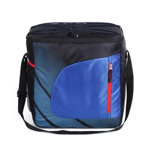 28L Большая теплоизоляция Термальная сумка Автомобильный холодильник Пикник Изолированный кулер с регулируемым плечевым ремнем