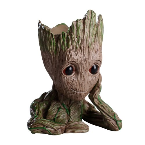 Guardians of The Galaxy Baby Groot Figure Flowerpot Style Pen Pot Toy Gift 16CM