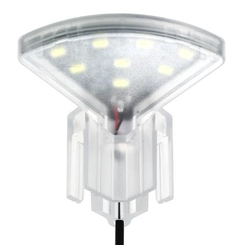 USB Аквариум Светодиодный вентиляторный зажимной светильник с 8-ми светодиодным индикатором SMD5730 Светодиодный индикатор Fish Tank White Light