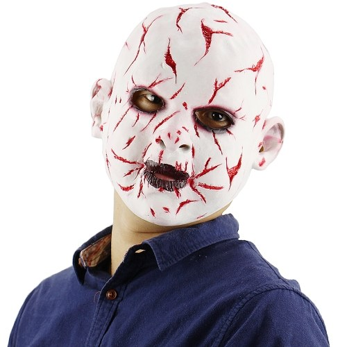 Latex Full Head Bloody Monster Mask Scary Creepy Ghost Mask
