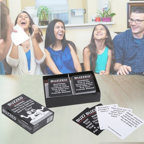 Buzzed Drinking Cards Games That Gets