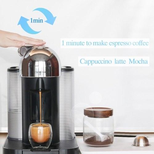 Нержавеющая сталь Заполняемые кофейные капсулы Многоразовый кофейный набор для капсульного фильтра для капсул Nespresso Vertuo Pod Vertuoline GCA1 и Delonghi ENV135