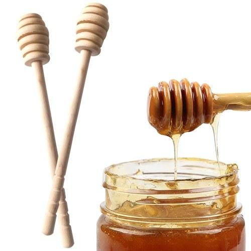 High Quality Honey Stir Bar Mixing   Handle Jar Spoon